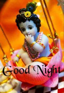Best God Krishna Good Night Images Photos Wallpapers Download