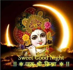 Good Night Jai Shri Krishna Image